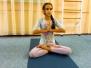 Тренировка по детской йоге