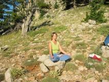 Анжела в медитации